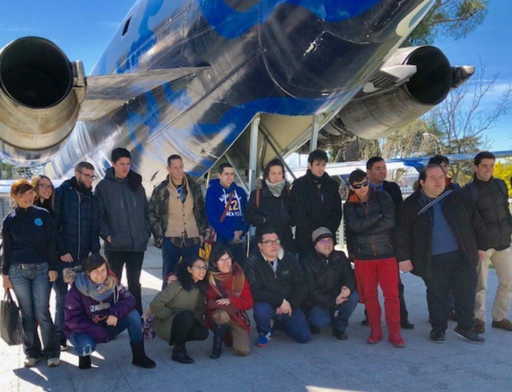 """Visita a """"Aviadores Solidarios"""""""