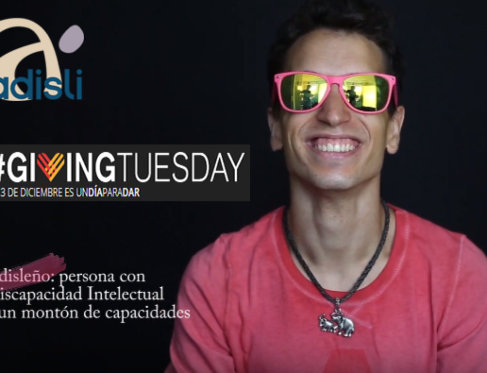 La Acción #adislivisible de Adisli participa en #GivingTuesday